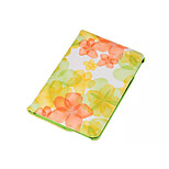 360 Degree Beautiful Peach Blossom  PU Leather Flip Cover Case for iPad Mini 4(Assorted Colors)