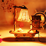 Creative Wood Windmill Light  Sailing Lamp Decoration Desk Lamp Bedroom Lamp Gift for Kid