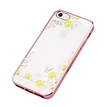 Apple IPhone 5/5S Secret Garden Flower Butterfly Diamond Soft TPU Cover