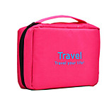 Travel Toiletry Bag / Inflated Mat Travel Storage Waterproof / Portable Fabric