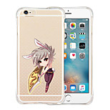 A Sword Mirrors Its Owner Soft Transparent Silicone Back Case for iPhone 5/5S(Assorted Colors)