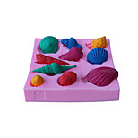 Conch Style  Decoration Fondant Mold Cake Decoration Mold