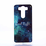 Good Night Pattern TPU+IMD Soft Case for LG V10