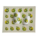 8pcs New  Lovely  Cartoon Water Transfer Nail Art Stickers Decoration ST01-08