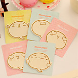 1PC Praise The Cartoon Expression Inspirational Elder Brother N Cute Post-It Note Note Book
