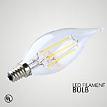 Ampoules Bougies LED Décorative Blanc Chaud GMY 1 pièce B E14 3W 4 COB ≥300 lm AC 100-240 V