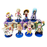 One Piece Anime Action Figure 8CM Model Toy Doll Toy