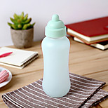 1PC 4.5*4.5*18.5cm Creative Gifts Glass Bottle Cup