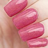 Ekbas Environmentally Safe Sugar Gum Red 16ML Glitters Nail Polish