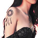 Lace PVC Henna Tattoo Sticker Printing Airbrush Tattoo Stencils