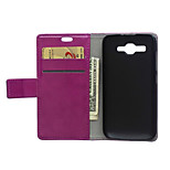 Flip Cover Wallet Style with Card Slot for Huawei Ascend Y520 Case Fashion Crazy horse Texture Case (Assorted Colors)