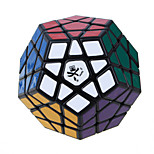 Magic Cube IQ Cube Dayan Megaminx Speed Smooth Speed Cube Magic Cube puzzle Black ABS