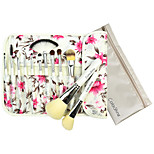 Flower Pattern Package Makeup Brush 12pcs/Set