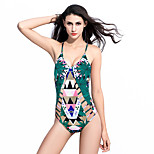 2016 European And American New Digital Printing Ladies Swimsuit
