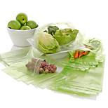 100Pcs Kitchen Fruit Vegetables Food Reusable Storage Bags Bag Fresh Greens