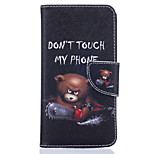 Chainsaw Bear Pattern Card Phone Cover For LG K7/K10