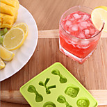 Bow DIY Candy Buttons Shape Silicone Ice Lattice Ice Lattice Random Color