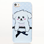 Dog Pattern Glitter Shine TPU Soft Back Case for iPhone 5/5S/SE