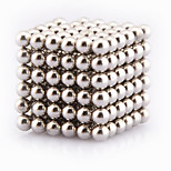 216pcs 3mm magic magnetic cube magnetic ball silver color