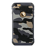 Ultra Thin Camo Protective Back Cover iPhone Case for iPhone 6S Plus/iPhone 6 Plus