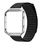 Fitbit bles accessoire band lederen magneetsluiting band Fitbit bles (zonder gesp en kader)
