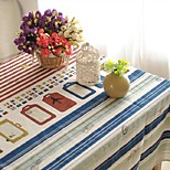 Flag Pattern Table Cloth Fashion Hotsale High-grade Cotton Linen Square Coffee Table Cloth Cover Towel