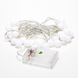 4m 40-LED Outdoor Holiday Decoration RGB Light LED String Light (4.5V)