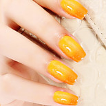 Ekbas Orange Color Gradient Nail Glue 16ML Nail Polish