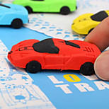 1PC Sports Car Modelling Eraser School Supplies Stationery Creative Pencil Eraser Student Gift(Style Random)