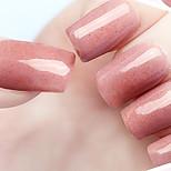 Ekbas Environmentally Safe Sugar Gum Brown Matte Nail Glue 16ML Nail Polish