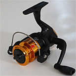 Mini Fishing Spinning Reel Gear Ratio 5.1:1 Exchangable Handle-200