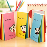 Panda Rainbow Inside Pages Note(Random Color)