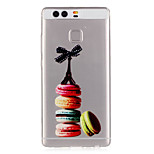 Macaron Cake Tower Pattern Embossed TPU Case for P9/ P9 Lite