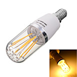 Marsing E14 6W 6-COB 600lm Warm/Cool White Light LED Filament Bulb Lamp(AC 85~265V)