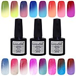 Lundle 8ml 60 Color Temperature Color Change Soak Off LED UV Gel Nail Polish