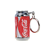 Coke Mini Key Ring Lighters Open Flames Inflatable Gas Lighters Red