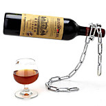 Cool Chain Style Bottle Holder Wine Rack Red Wine Stand Support Bracket