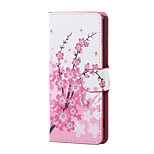 New Plum Blossom Magnetic PU Leather wallet Flip Stand Case cover for Wiko Lenny 3