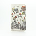 Hot Air Balloon Patter PU Leather Full Body Case with Stand for Wiko Lenny2