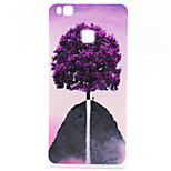Purple Tree Pattern TPU Material Phone Case for  Huawei  P8 Lite/P9 Lite/G8