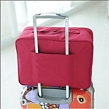 Travel Bag / Packing OrganizerForTravel Storage / Luggage Accessory Fabric Grey / Blue / Green / Red 38*27*18,(Big)