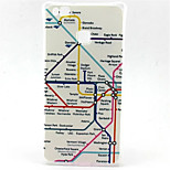 Map Pattern TPU Material Phone Case for  Huawei  P8 Lite/P9 Lite/G8