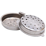 6.8cm Stainless Steel Infuser Strainer Tea Leaf Filter Spoon Locking Spice Ball
