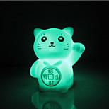 Creative Color-Changing Romantic Gift Maneki Neko Colorful LED Night Light