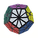 Chrysanthemum Shaped Megaminx With Stickers Puzzle Toys Magic Cube Matte Black