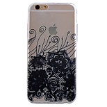 ultra fino com padrões TPU macio Capa para iPhone 6 / 6s / 6 mais / 6s mais