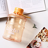 1PC 650ML 9*9*15.2cm Creative Mini Bottled Water