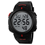 Men's  Sports Watch Noctilucent / Calendar / Chronograh / Water Resistant  / Digital Wrist Watch
