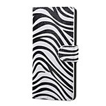 Zebra Pattern Magnetic PU Leather wallet Flip Stand Case cover for LG K5 X220