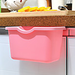 Candy-colored Kitchen Can Organize Storage Box Hanging Trash Debris